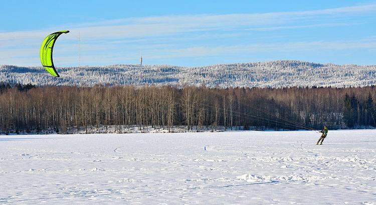 snowkiting sporty zimowe sport ciekawostki zima dyscypliny sportowe