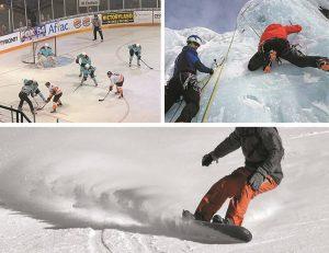 sporty zimowe sport zima