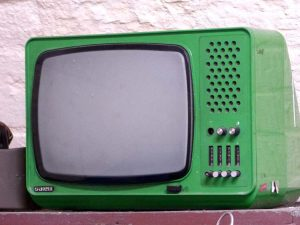 stary telewizor telewizja historia ciekawostki kineskop