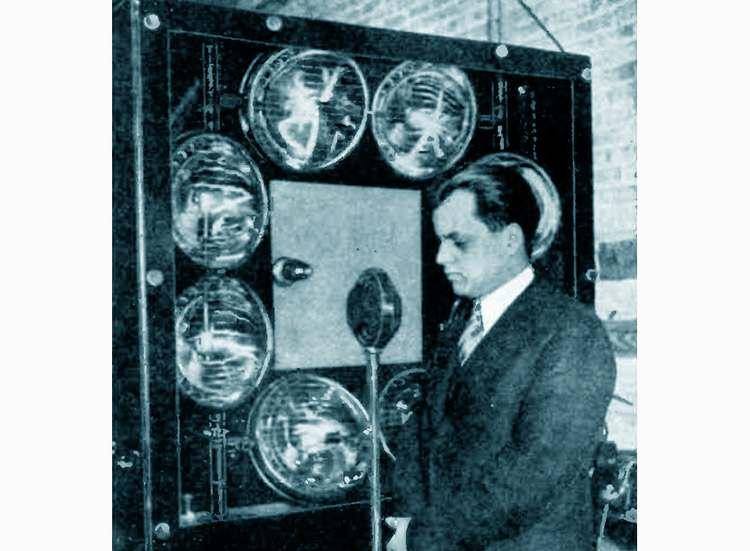 telewizory telewizja 1931 telewizor nagranie wynalazek historia