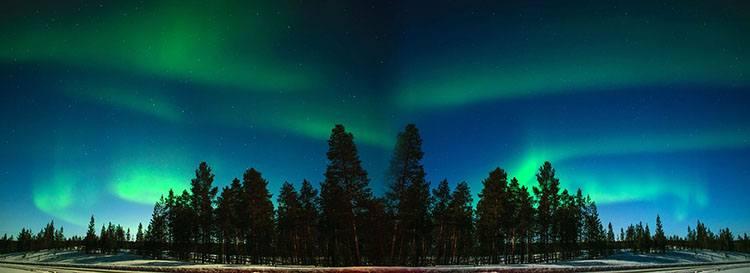 zorza polarna Laponia ciekawostki informacje zorza polarna