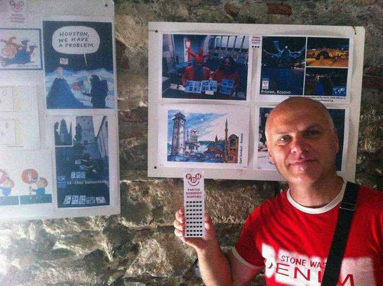 Gani Sunduri Kosowo wystawa 2015 Happy Skyscraper