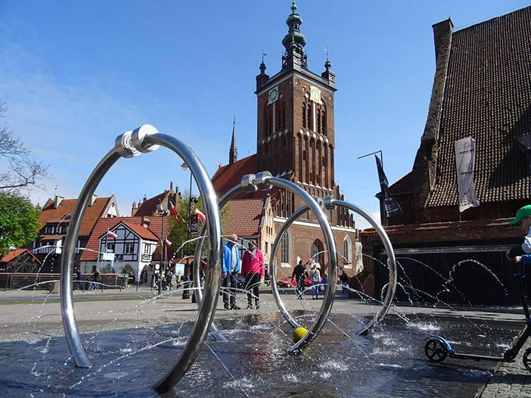 Gdańsk zabytki ciekawostki atrakcje fontanna kościół