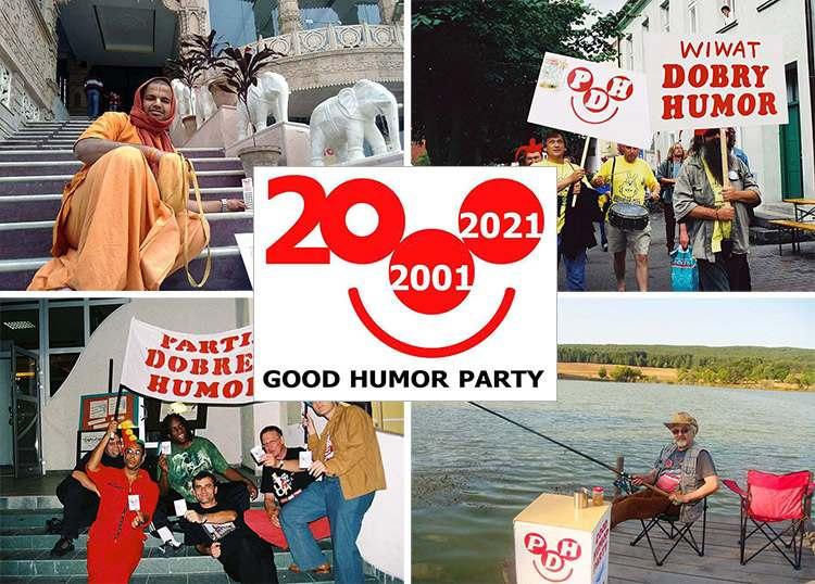 Good Humor Party Partia Dobrego Humoru dowcipy uśmiech