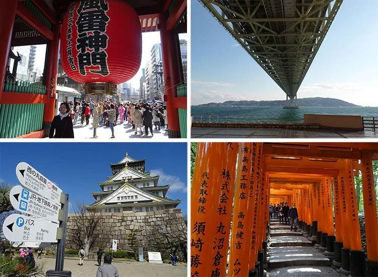 Japonia największe miasta Japonii atrakcje ciekawostki zabytki