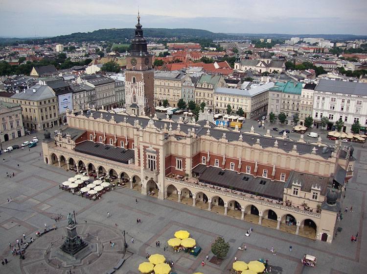 Sukiennice krakowski rynek zabytki atrakcje