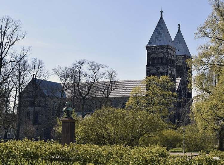 Lund katedra Szwecja zabytki