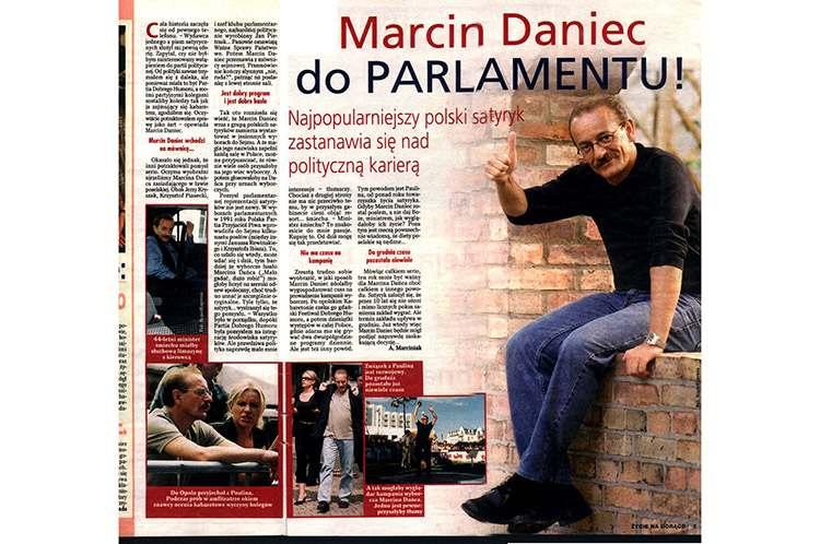 Marcin Daniec Partia Dobrego Humoru