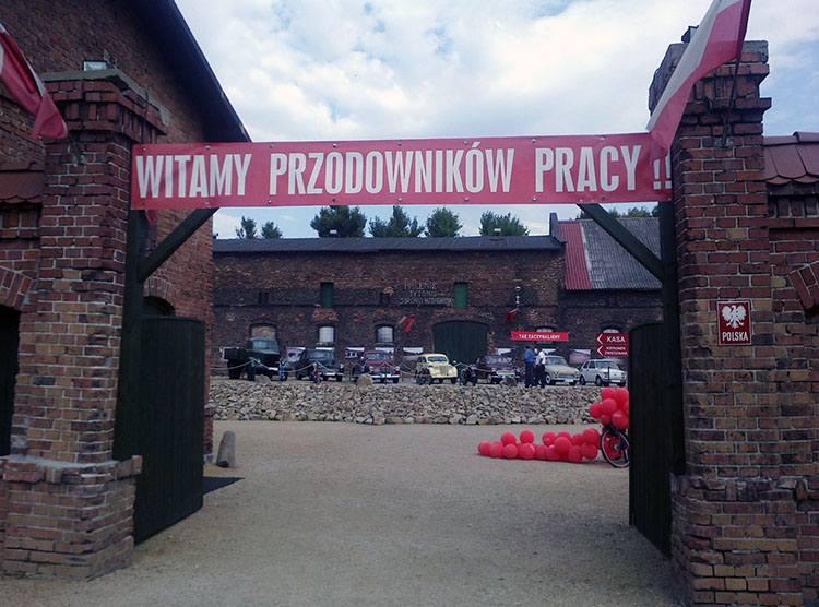 socjalizm Muzeum PRL Ruda Śląska ciekawostki sztandar