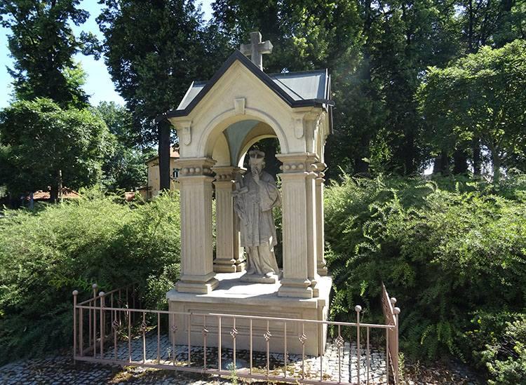 św. Nepomucen kapliczka Knurów ciekawostki atrakcje zabytki