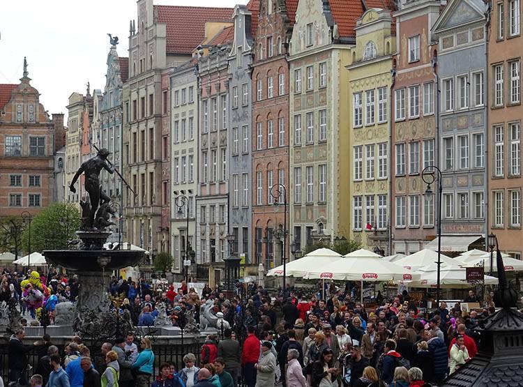 Neptun fontanna Krzesztof Gdańsk zabytki