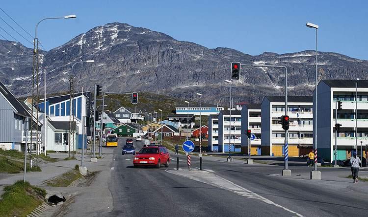 miasto Nuuk Grenlandia ciekawostki atrakcje co zobaczyć