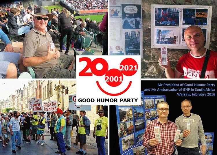 Partia Dobrego Humoru Wesoły Wieżowiec Good Humor Party Happy Skyscraper