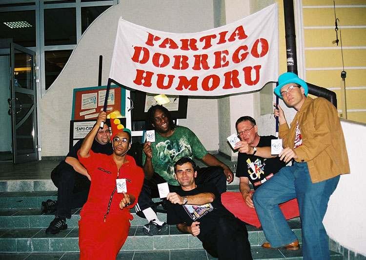 Satyrblues 2001 Tarnobrzeg Partia Dobrego Humoru