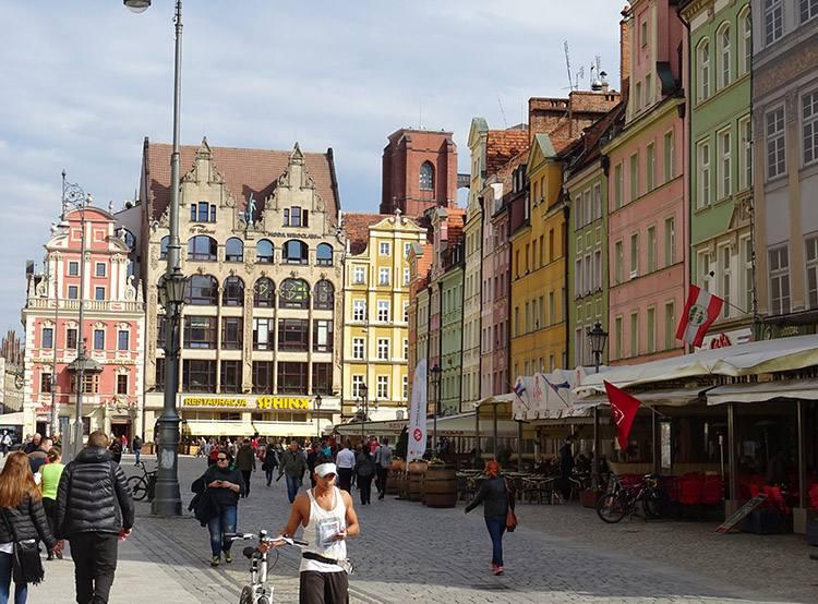 Stare Miasto Wrocław Rynek Wrocław kamienice