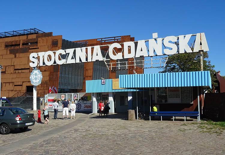 Stocznia Gdańska Europejskie Centrum Solidarności ciekawostki zabytki atrakcje