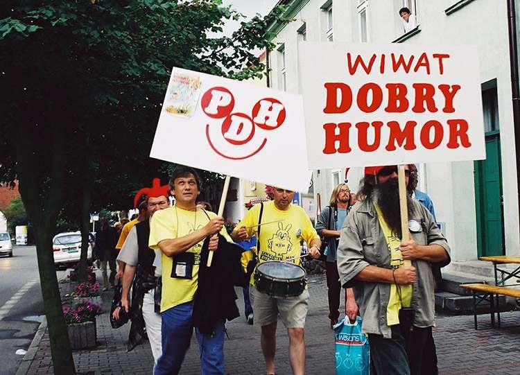 Ustka 2001 Partia Dobrego Humoru