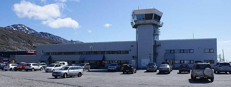 lotnisko Nuuk Grenlandia