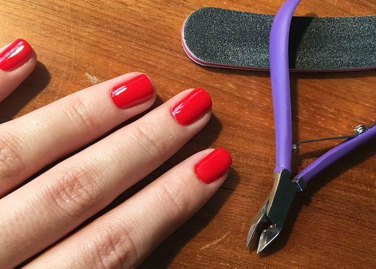 manicure hybrydowy ciekawostki frencz historia