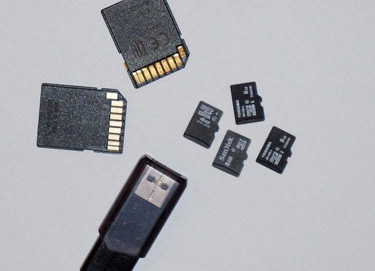 micro SD karta pamięci