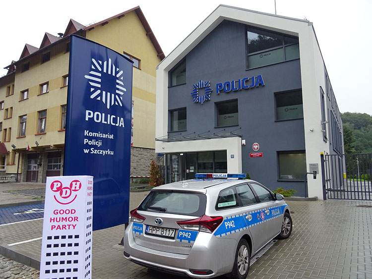 policja ciekawostki Szczyrk komisariat policji policjanci