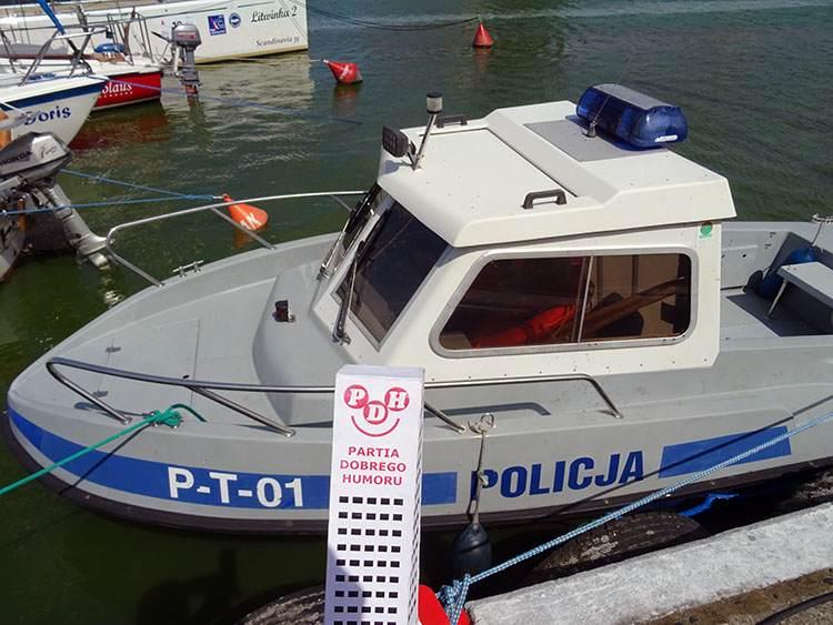 policja ciekawostki Frombork policjanci