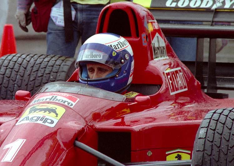 Alain Prost 1990 USA GP Phoenix