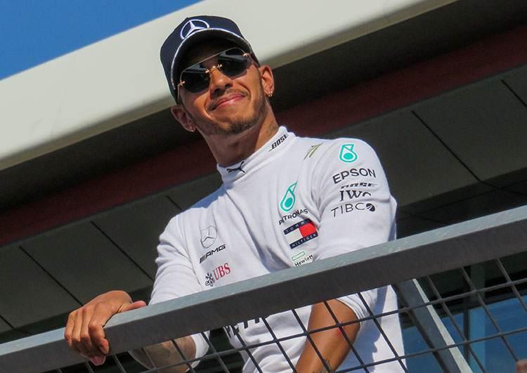 Lewis Hamilton Formuła 1 kierowca