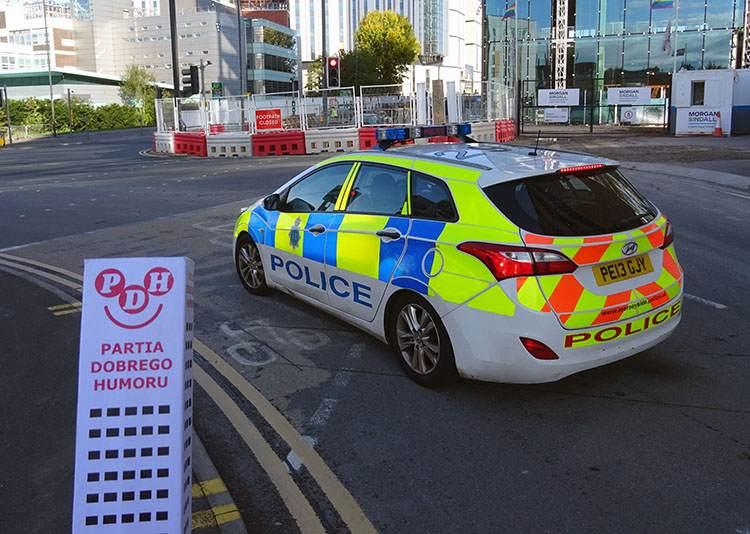 Liverpool policja angielska samochód policyjny