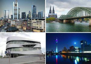 Niemcy największe miasta Niemiec