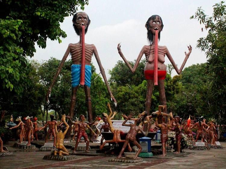 Wang Saen Suk Hell Garden Tajskie Piekło Tajlandia podróże