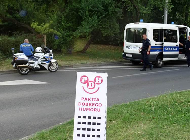 Zagrzeb Chorwacja policjanci policja ciekawostki
