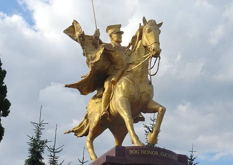 Złoty Ułan pomnik Kałuszyn ciekawostki