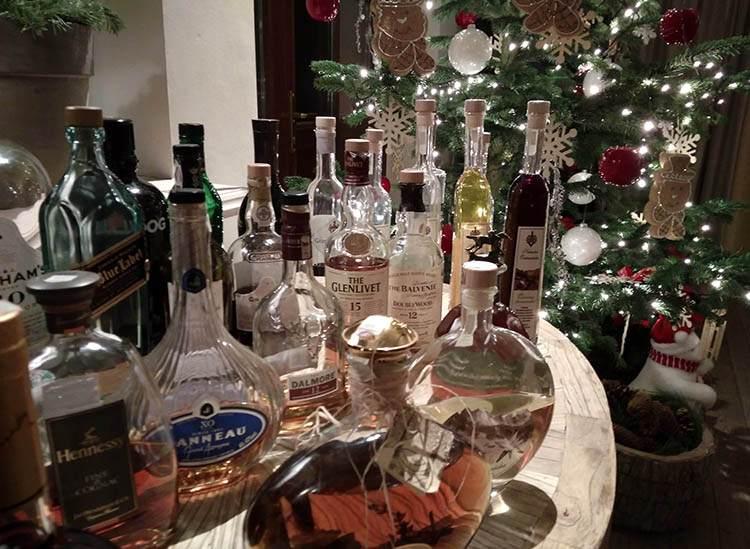 alkohol na wesele wesela atrakcje butelki