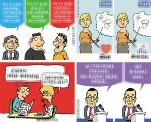 komentarze polityczne satyryczne polityka politycy śmieszne rysunki humorystyczne