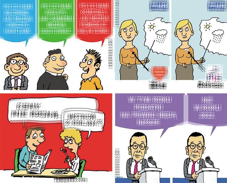 komentarze polityczne satyryczne polityka politycy