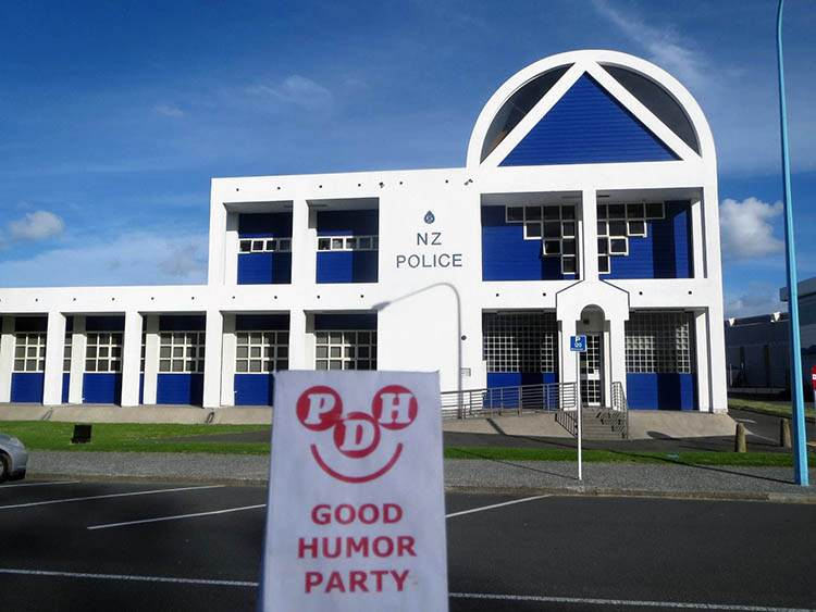 komisariat policji Tauranaga Nowa Zelandia