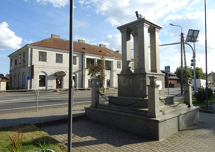 miasto Kałuszyn pomnik ciekawostki