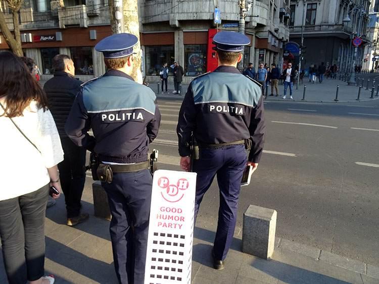 policja na świecie ciekawostki Bukareszt Rumunia