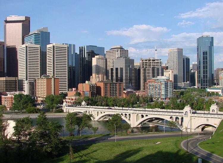 Calgary Kanada największe miasta Kanady
