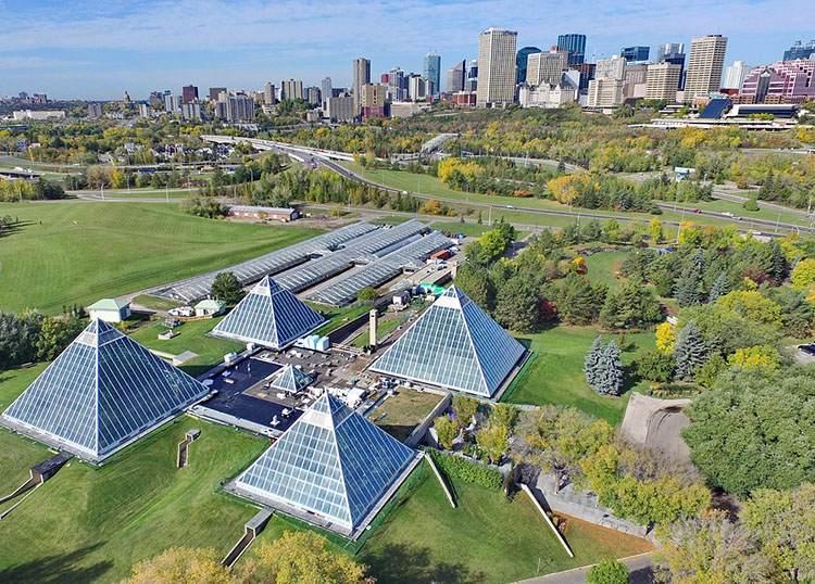 Edmonton Kanada największe miasta Kanady