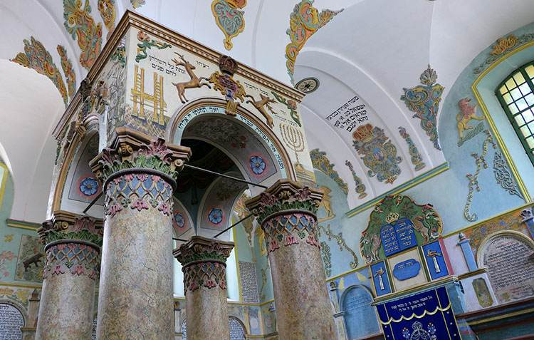 Łańcut ciekawostki synagoga zabytki