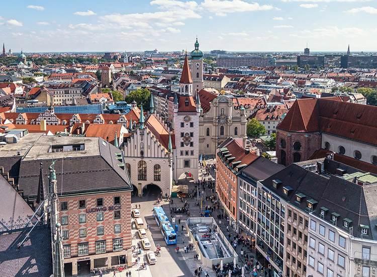 Marienplatz Monachium ciekawostki zabytki atrakcje