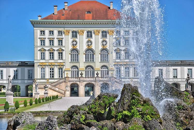 Monachium zabytki pałac Nymphenburg