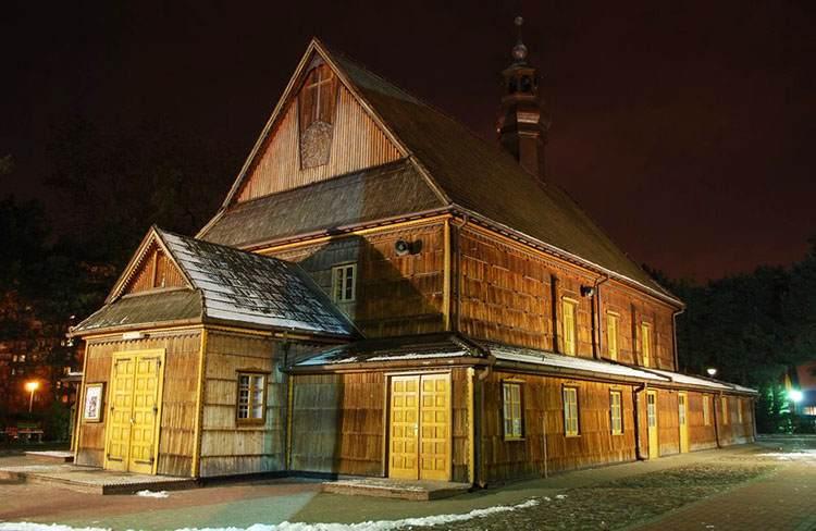 Stalowa Wola ciekawostki kościół św. Floriana
