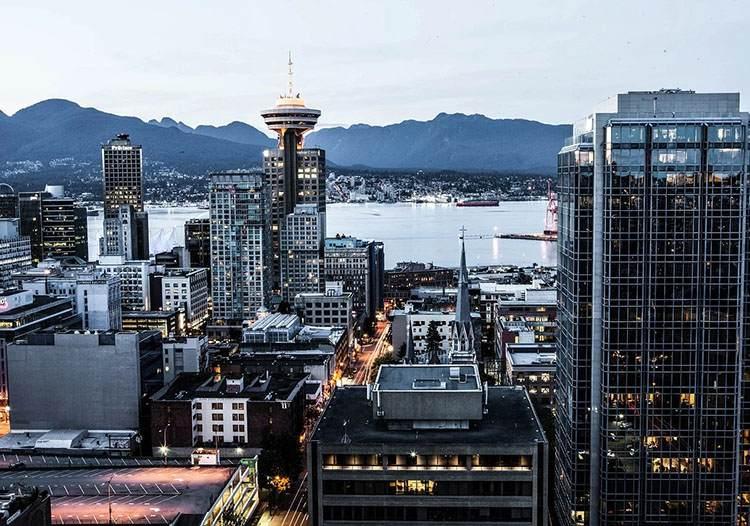 Vancouver Kanada największe miasta Kanady