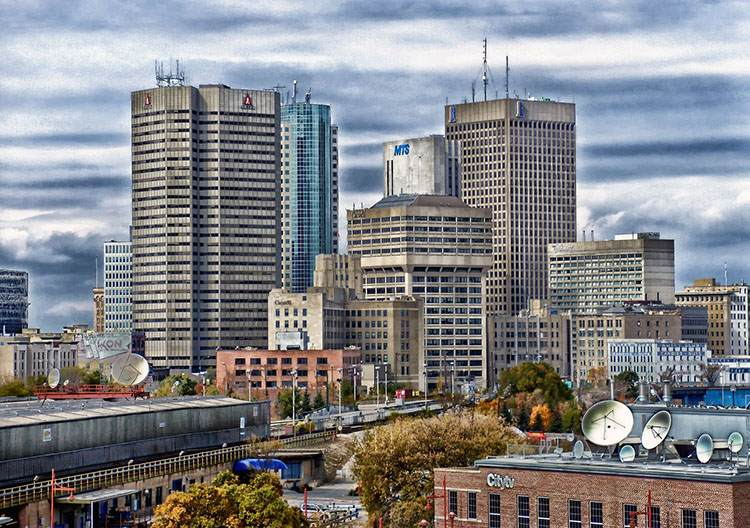 Winnipeg miasto w Kanadzie