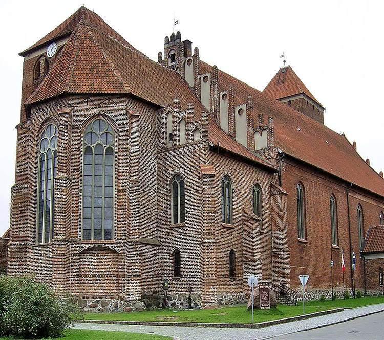 kościół św. Jerzego Kętrzyn ciekawostki zabytki