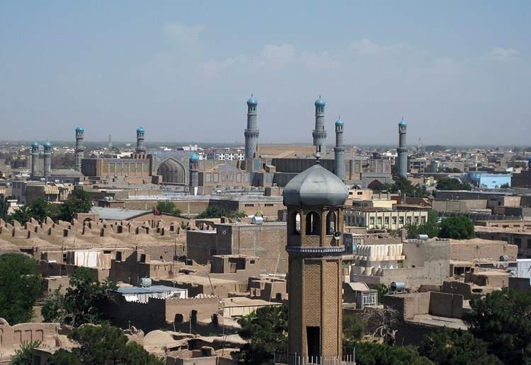 miasto Herat Afganistan miasta wycieczka