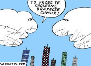najkrótsze dowcipy abstrakcyjne kawały absurdalne humor chmury żart rysunek